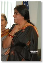 Actress Sudha in New Jersey
