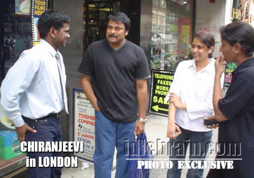 Chiranjeevi in London