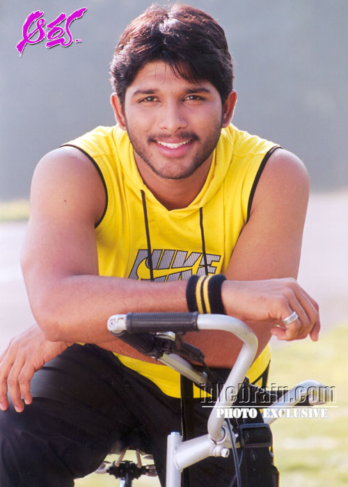 Allu Arjun - Wallpaper Hot