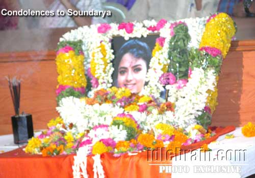Soundarya Death Photos http://www.idlebrain.com/news/2000march20/death-soundarya/soundarya.html