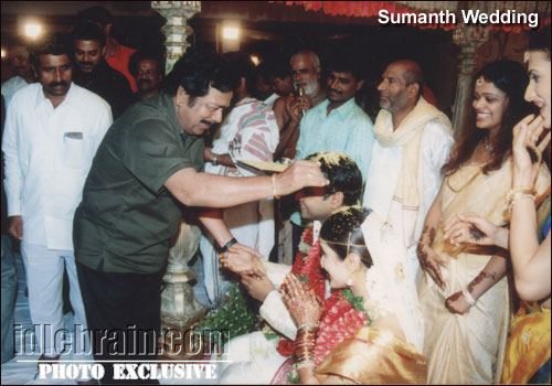 sumanth wedding