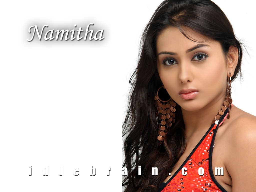 Telugu film actress wallpapers - Namitha - Namita - Nammitha