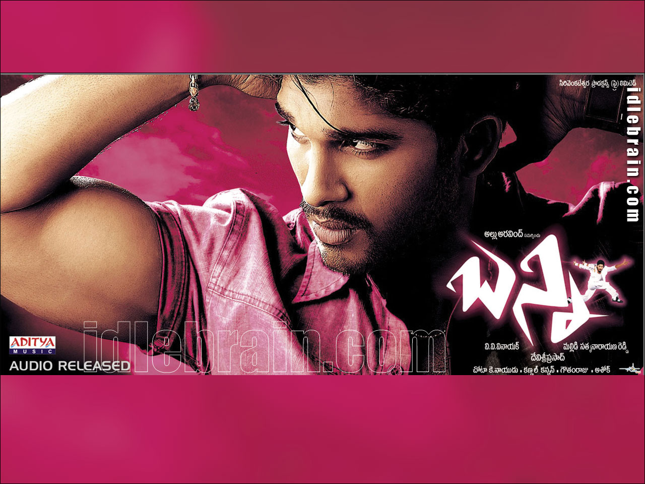 Bunny - Telugu film wallpapers - Allu Arjun