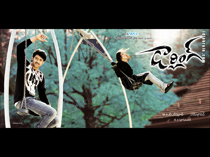 Darling Telugu Film Wallpapers Telugu Cinema Prabhas Kajal