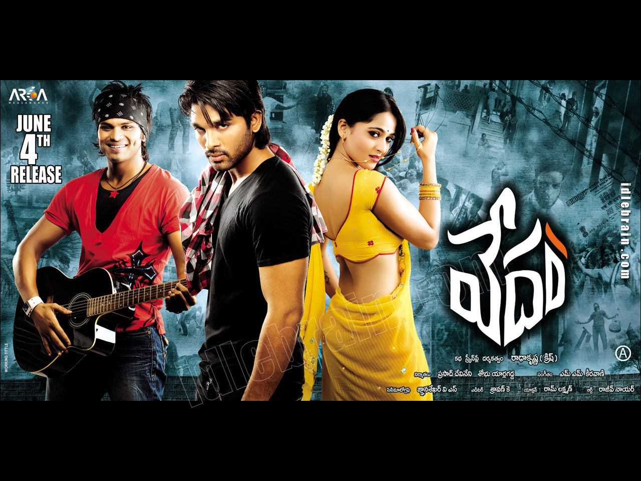 Vedam - Telugu film wallpapers - Telugu cinema