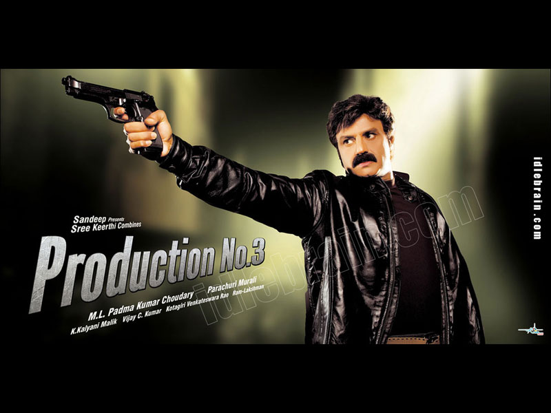 Balakrishna film in Paruchuri Murali direction
