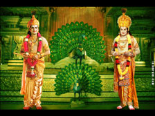 Bala Krishna as Lord Krishna