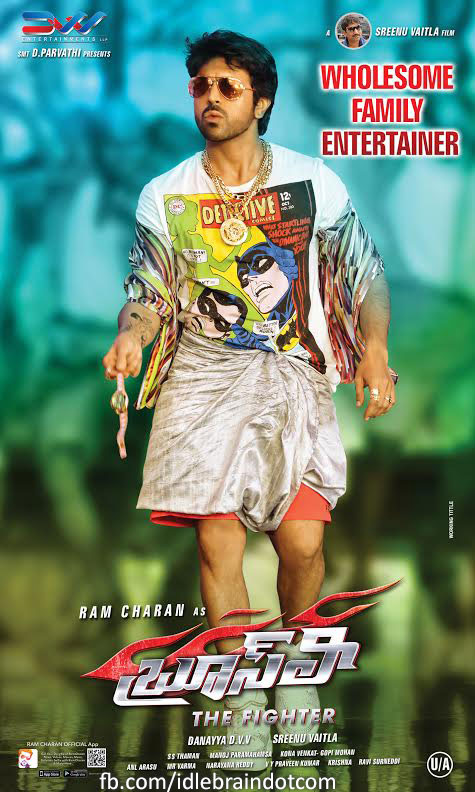 Bruce Lee posters - Ram Charan in Lungi in title song ...