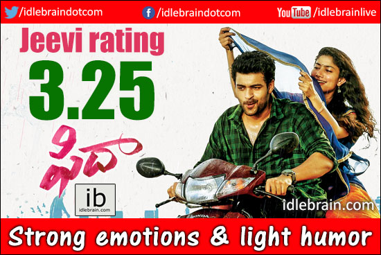 Fidaa jeevi review