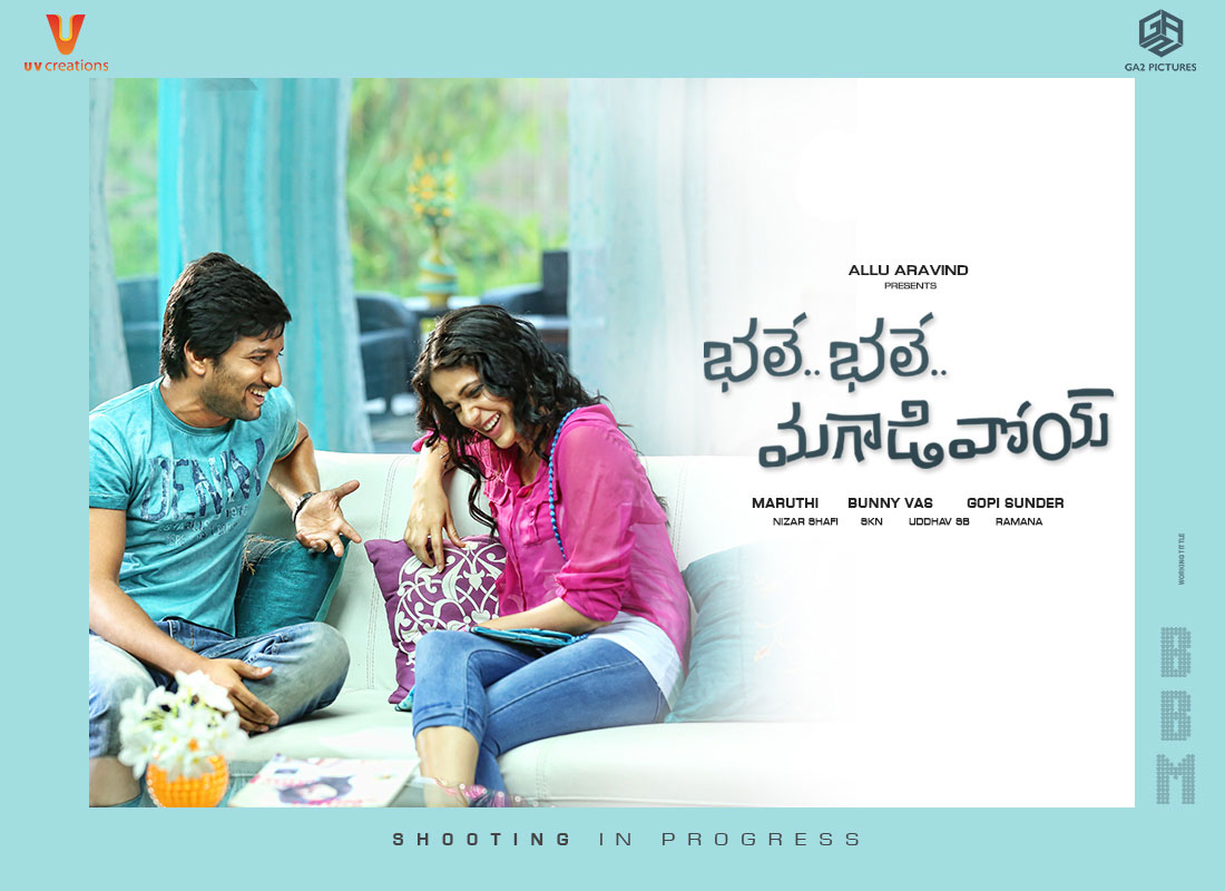 Nani's Bhale Bhale Magadivoy First Impression Poster