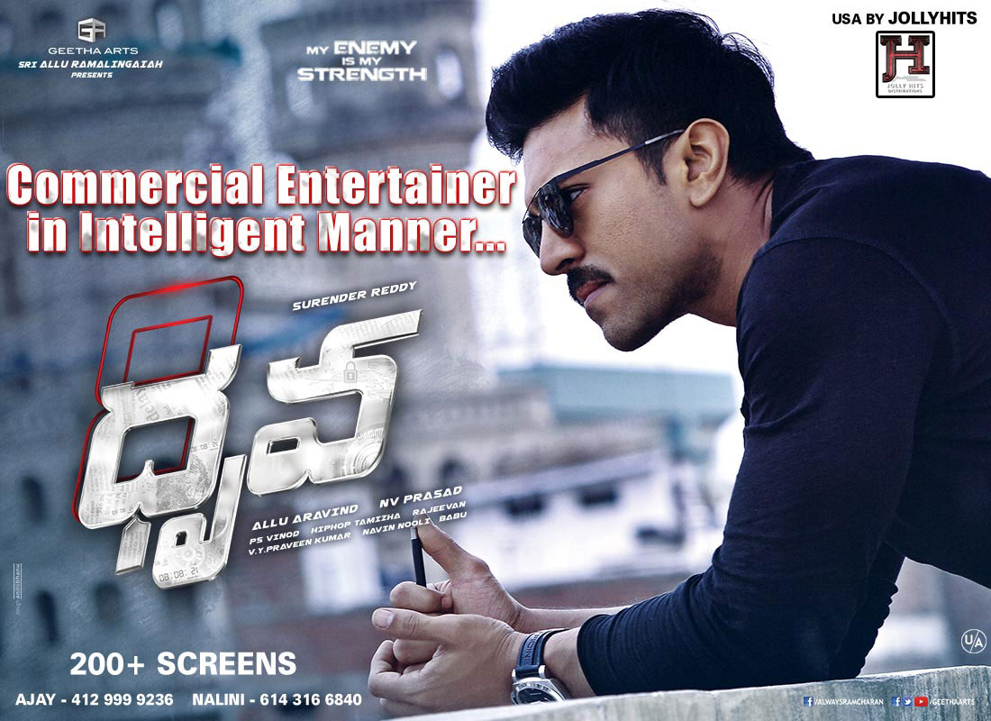 Dhruva - December 8th USA premieres