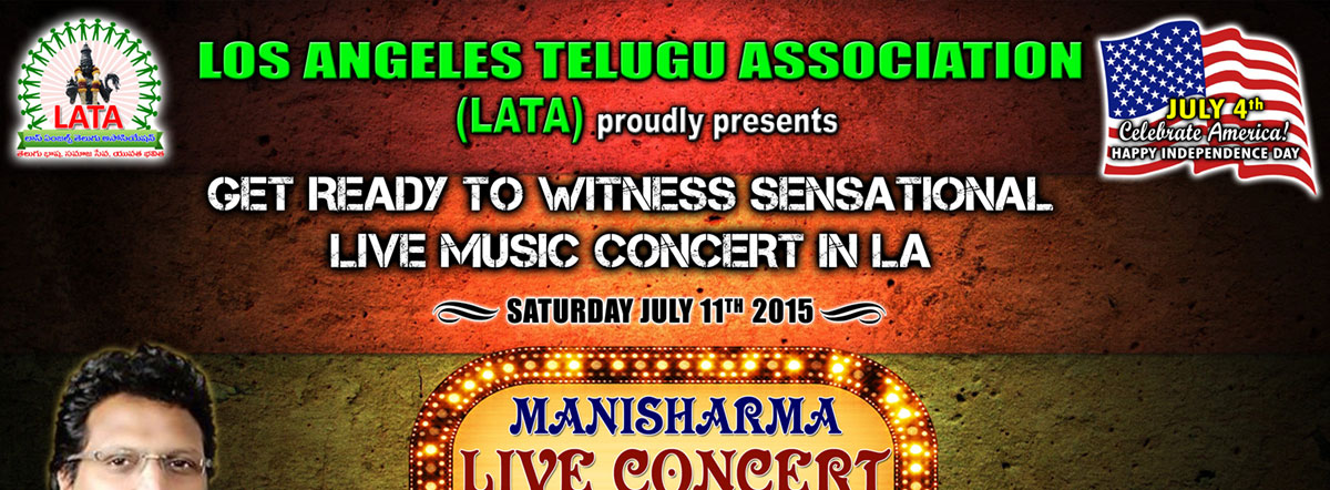 Mani Sharma Live concert in Los Angels