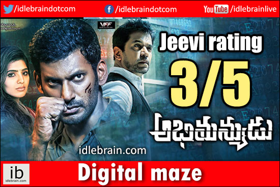 Abhimanyudu jeevi review