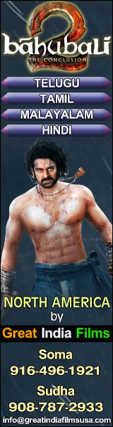 Baahubali 2 North America by Great India Films