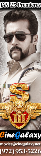 Singam 3 in USA by CineGalaxy