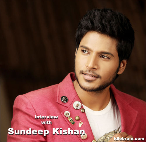 Sundeep Kishan Sundeep Kishan interview Telugu film actor
