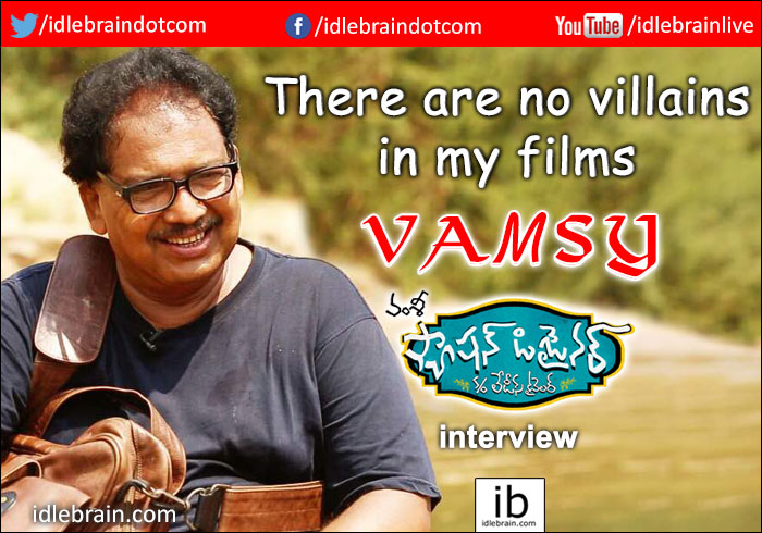 Interview With Vamsy About Fashion Designer S O Ladies Tailor Telugu Cinema Director