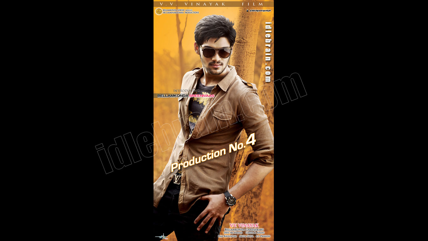 Bellamkonda Srinivas debut film