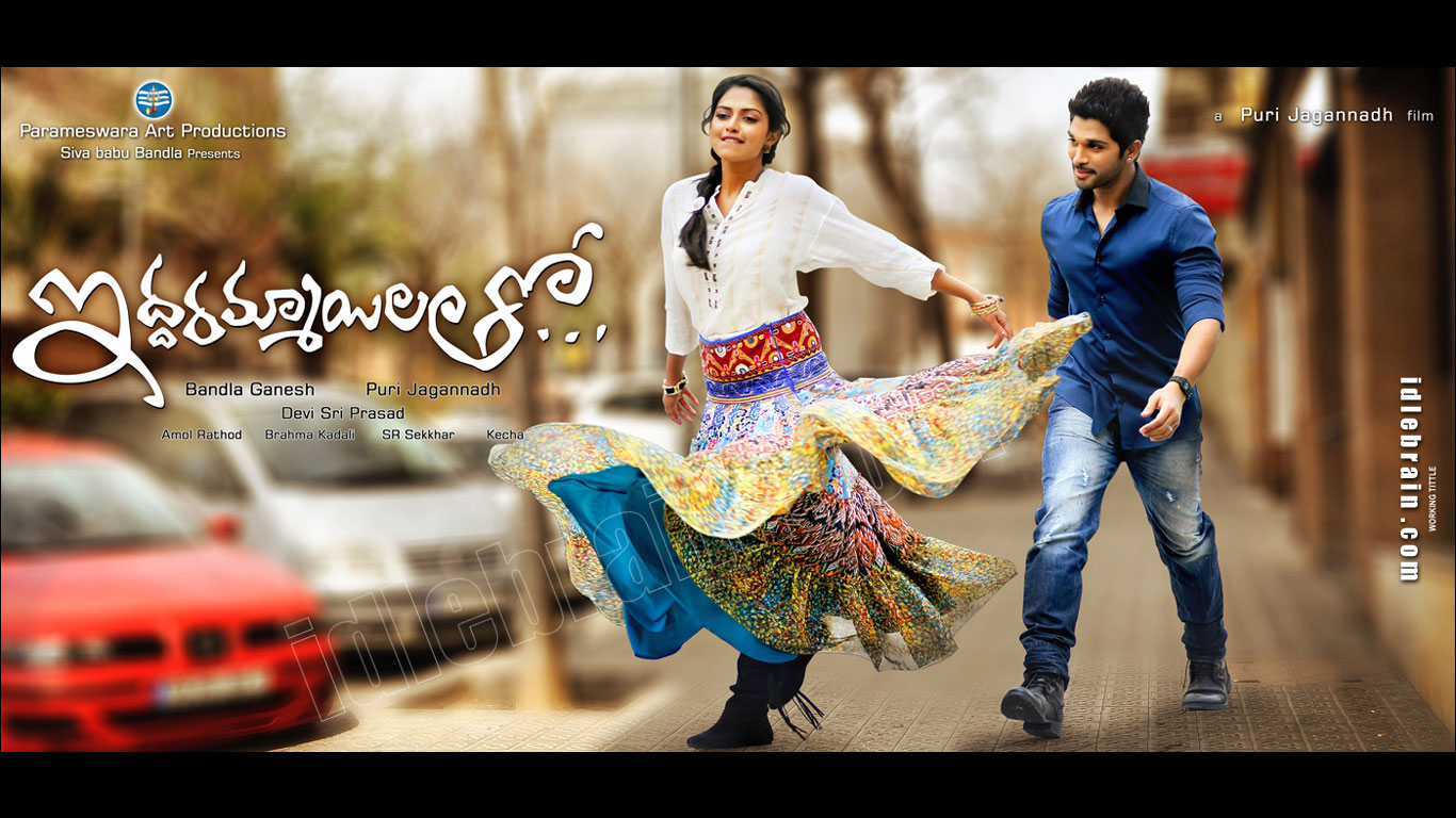 ... wallpapers - Telugu cinema posters -Allu Arjun, Amala Paul & Katherine