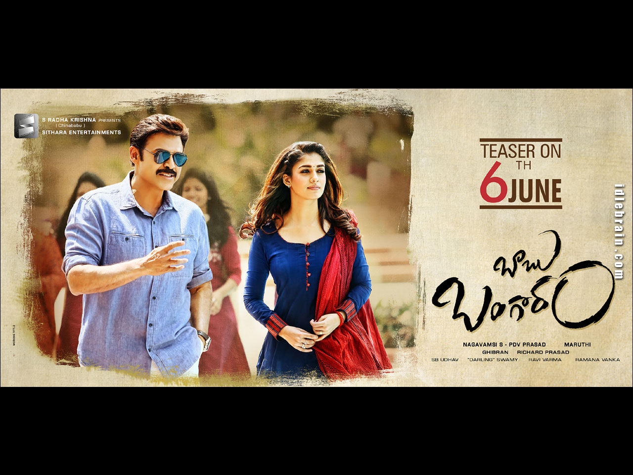 Venkatesh and Nayanatara in Babu Bangaram