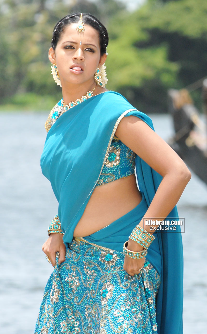 Bhavana hot in blue saree photos hot navel indian actress pictures thecheapjerseys Images
