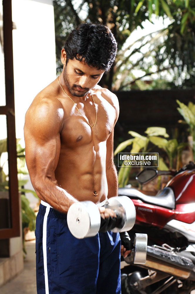 Nitin With 6 Pack Body For Victory Film Photo Gallery