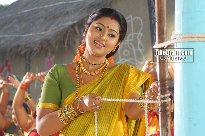 In pandurangadu movie