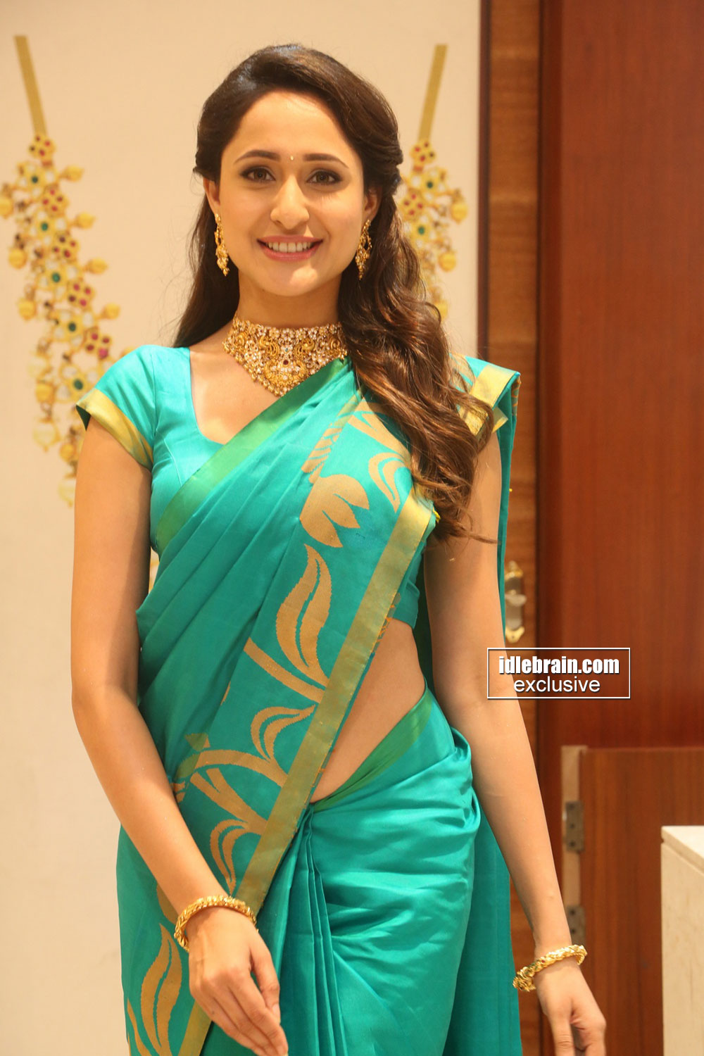 Acress Pragya Jaiswal saree photos