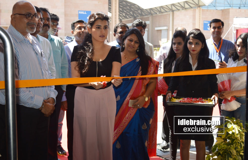 archana launches kitchen india expo at hitex idlebrain
