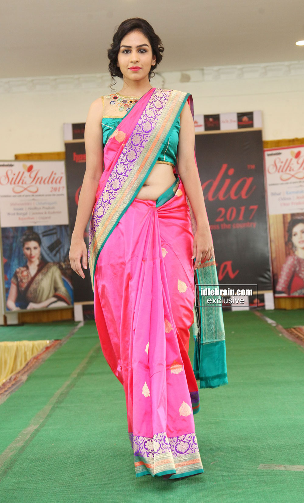 Silk India Expo Fashion Show At Sri Raja Rajeshwari Gardens Secunderabad Telugu Cinema